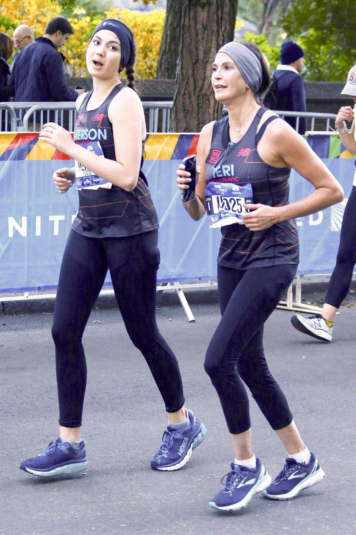 Teri Hatcher at 2018 New York City Marathon 2018/11/04 1