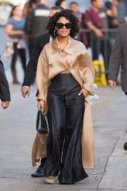 Tessa Thompson Arrives at Jimmy Kimmel Live in Los Angeles 2018/11/14 1