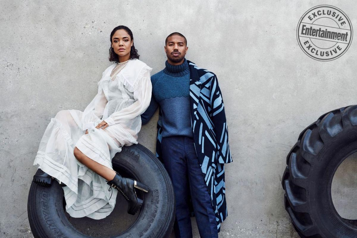 Tessa Thompson in Entertainment Weekly Magazine, November 2018 1