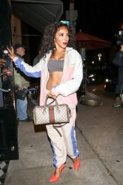 Tinashe at Craig's Restaurant in West Hollywood 2018/11/19 4
