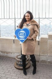 Venus Williams Lights Empire State Building in Support of Small Business 2018/11/21 3