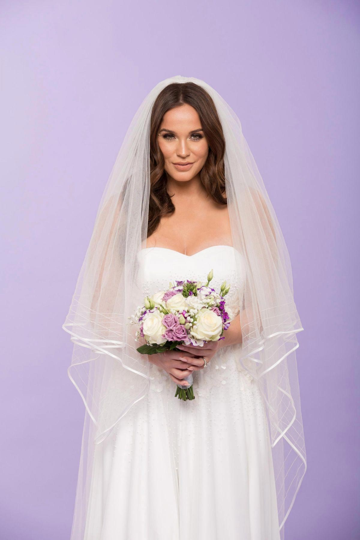 Vicky Pattison on the Set of a Wedding Theme Photoshoot, November 2018 1