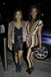 Victoria Ekanoye and Tisha Merry at Ivy Spinningfields VIP Launch Party in Manchester 2018/11/23 1