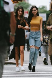 Victoria Justice and Madison Reed on the Set of a Photoshoot in New York, September 2018 1