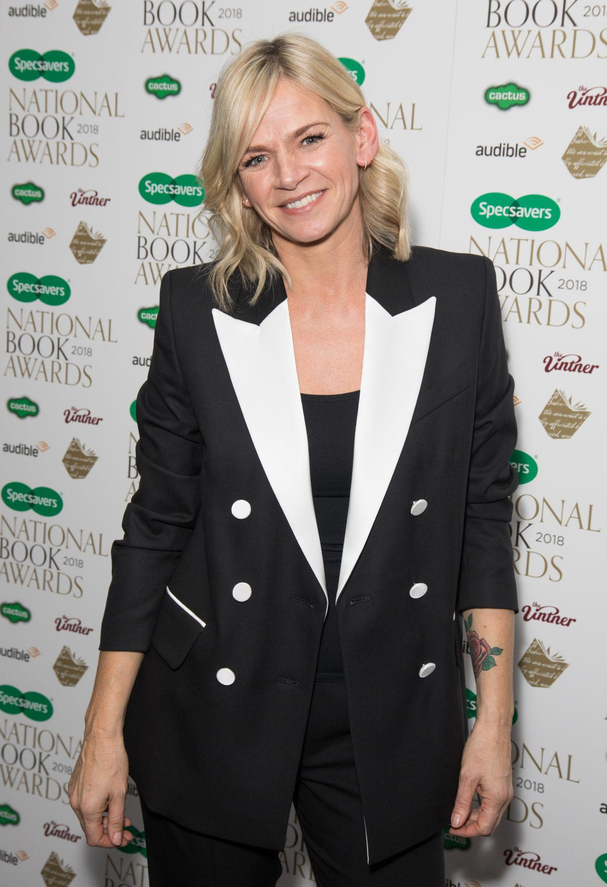 Zoe Ball at Specsavers National Book Awards in London 2018/11/20 1