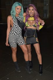 Abbie Holborn and Zahida Allen Night Out in Newcastle 2018/12/26 1