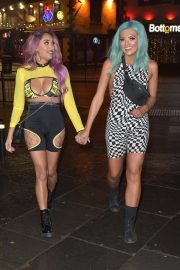 Abbie Holborn and Zahida Allen Night Out in Newcastle 2018/12/26 9