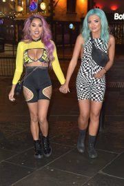 Abbie Holborn and Zahida Allen Night Out in Newcastle 2018/12/26 10