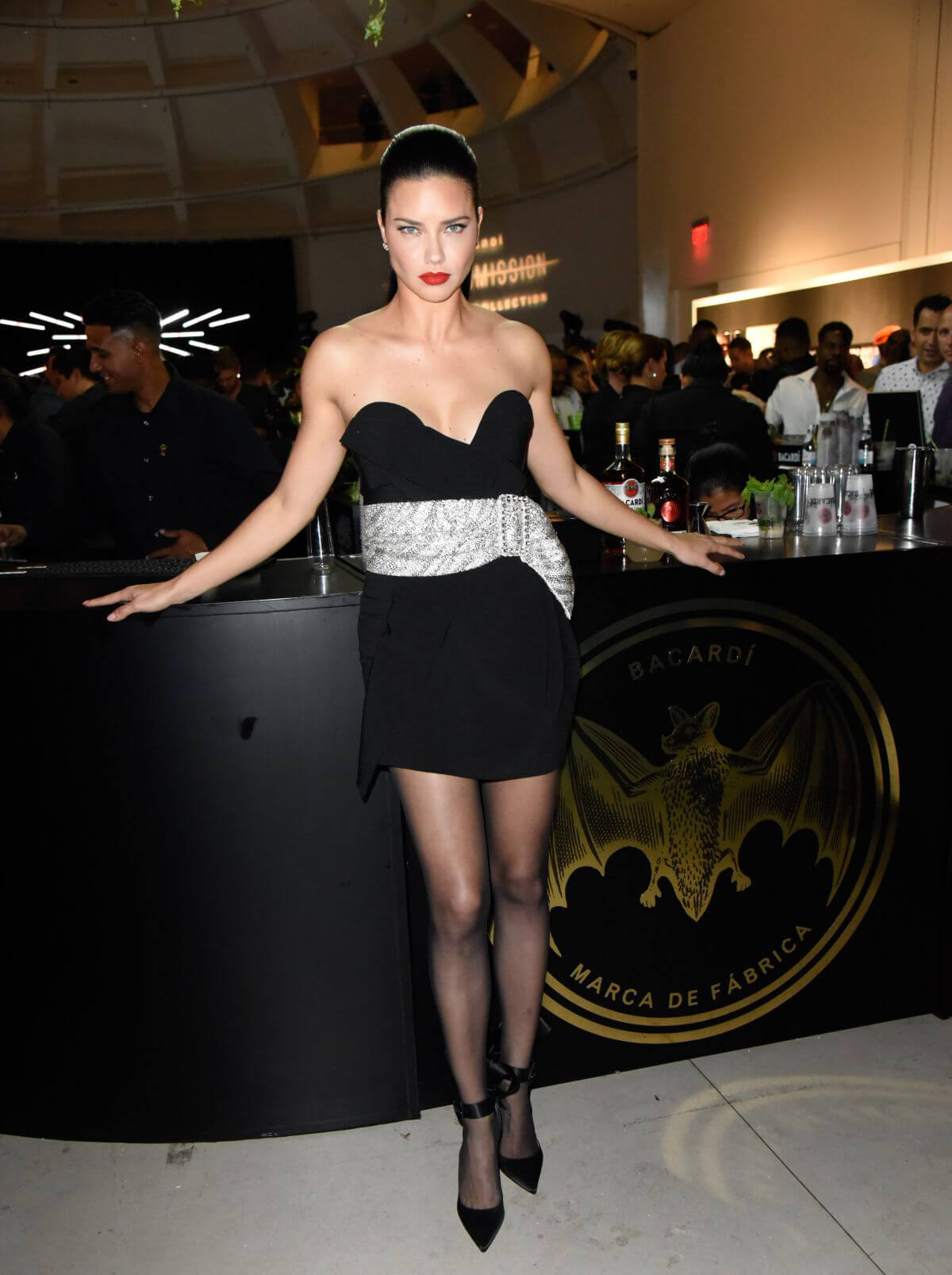 Adriana Lima at Faena Forum in South Beach 2018/12/07