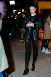 Adriana Lima Leaves Cipriani in New York 2018/12/15 2