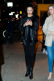 Adriana Lima Leaves Cipriani in New York 2018/12/15 3