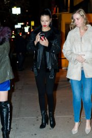 Adriana Lima Leaves Cipriani in New York 2018/12/15 4