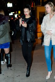 Adriana Lima Leaves Cipriani in New York 2018/12/15 5