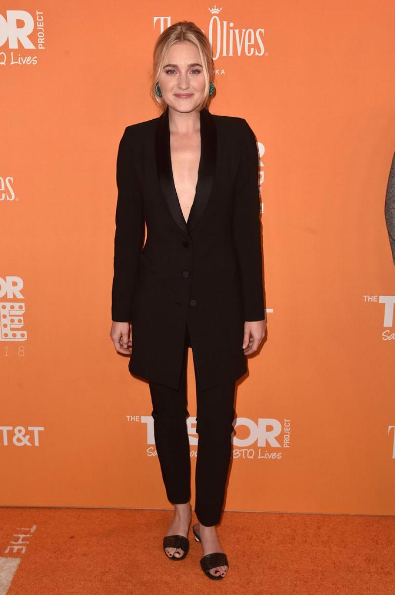 AJ Michalka at TrevorLIVE in Los Angeles 2018/12/02 1