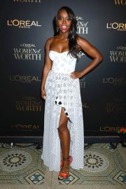 Aja Naomi King at L'Oreal Paris Women of Worth Celebration in New York 2018/12/05 1