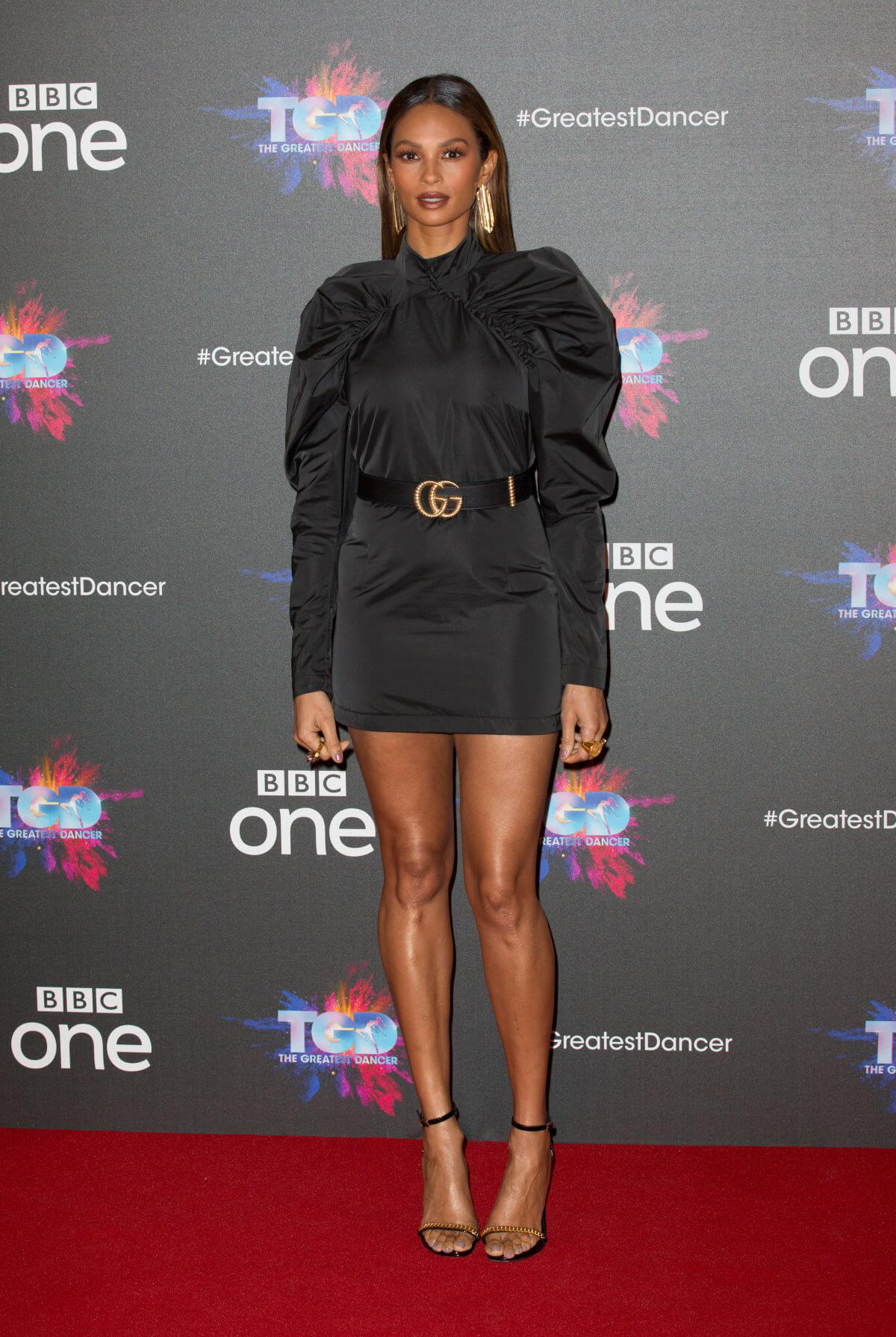 Alesha Dixon at The Greatest Dancer Photocall in London 2018/12/10 1