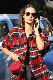 Alessandra Ambrosio Arrives at a Skin Care Clinic in Los Angeles 2018/12/11 4
