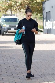 Alessandra Ambrosio Heading to a Gym in Los Angeles 2018/12/12 2