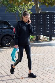 Alessandra Ambrosio Heading to a Gym in Los Angeles 2018/12/12 3