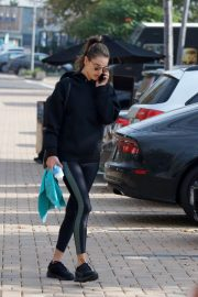 Alessandra Ambrosio Heading to a Gym in Los Angeles 2018/12/12 4