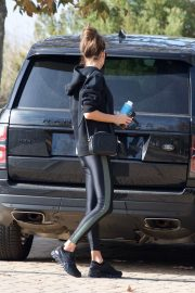 Alessandra Ambrosio Heading to a Gym in Los Angeles 2018/12/12 7