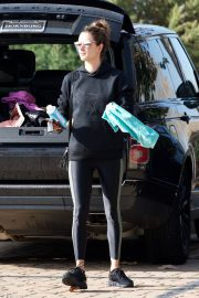 Alessandra Ambrosio Heading to a Gym in Los Angeles 2018/12/12 10