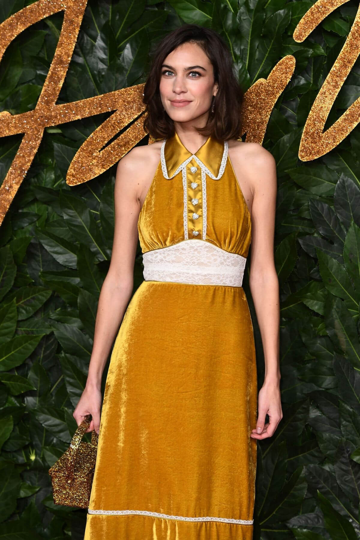 Alexa Chung at British Fashion Awards in London 2018/12/10 1