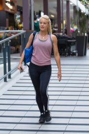 Ali Oetjen at a Gym in Melbourne 2018/17/12 2