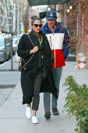 Alicia Vikander and Michael Fassbender Out for Lunch in New York 2018/12/18 3