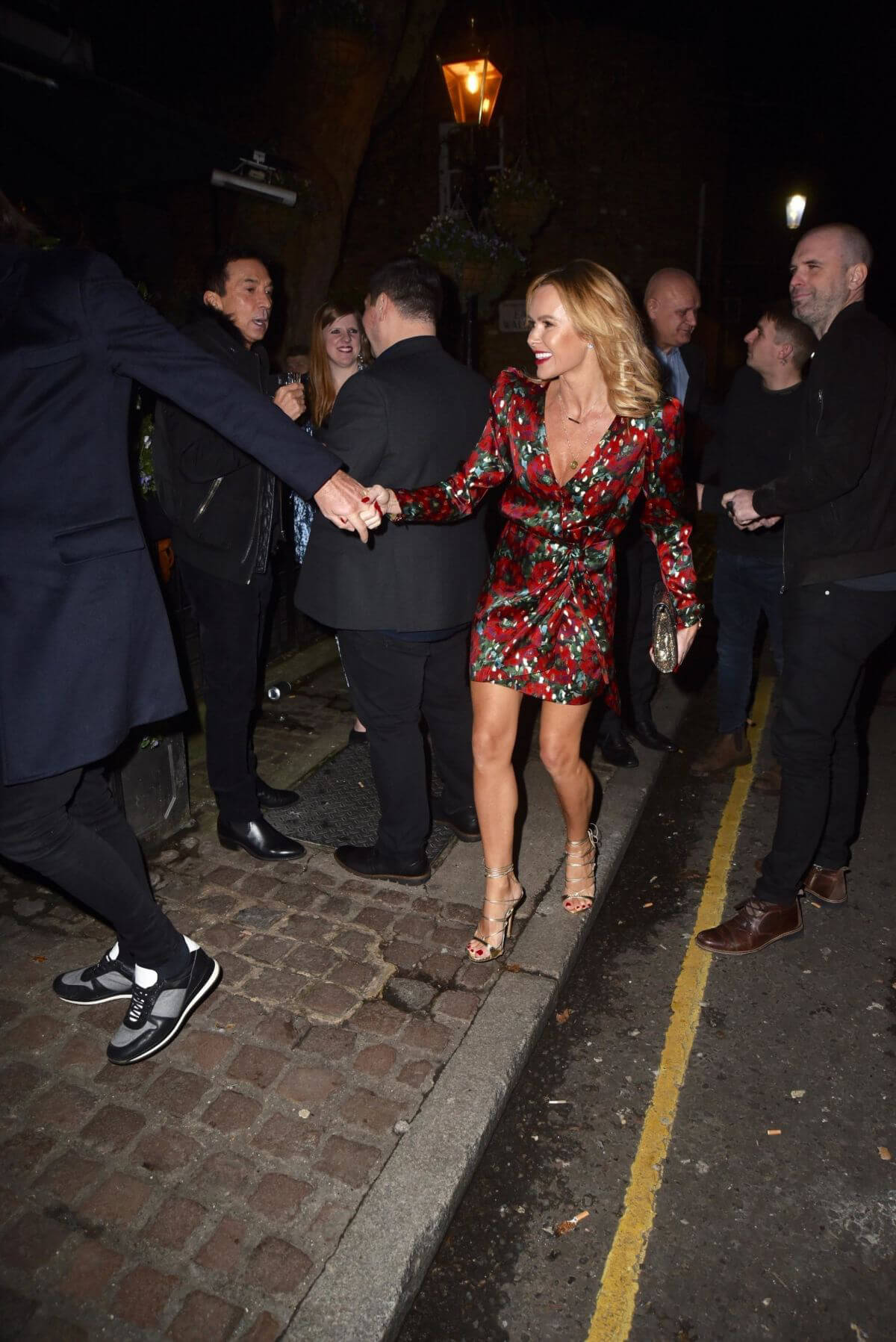 Amanda Holden at Piers Morgans Christmas Party in London 2018/12/20 1