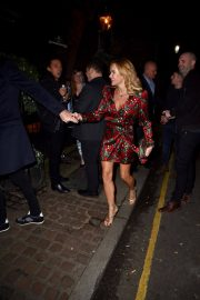 Amanda Holden at Piers Morgans Christmas Party in London 2018/12/20 2