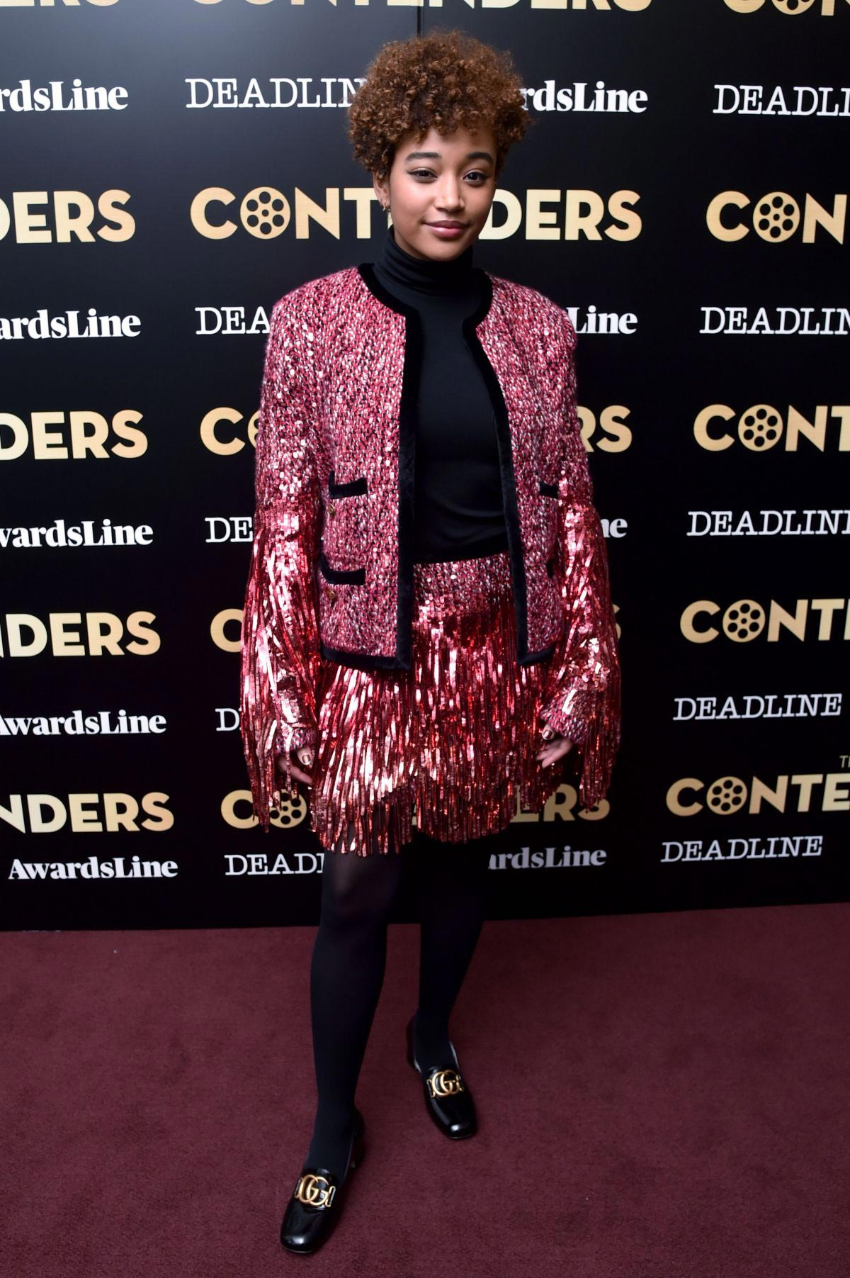 Amandla Stenberg at The Hate U Give Presentation at Contenders New York 2018/12/01 1
