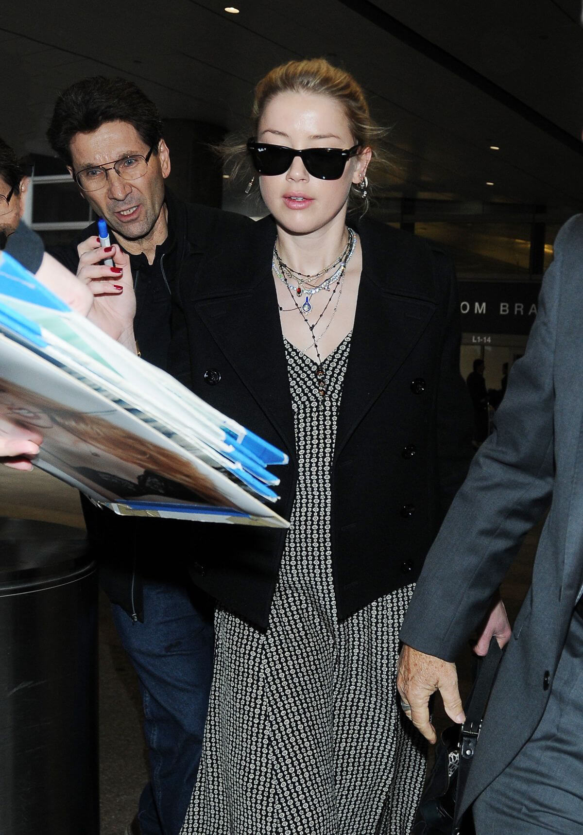 Amber Heard at LAX Airport in Los Angeles 2018/12/12 1