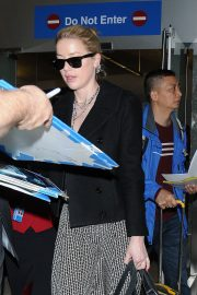 Amber Heard at LAX Airport in Los Angeles 2018/12/12 3