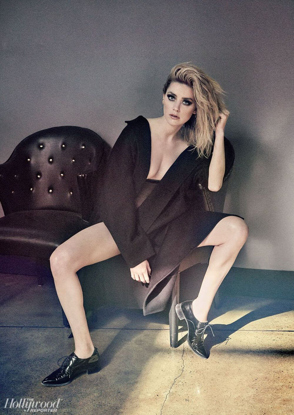 Amber Heard for The Hollywood Reporter Magazine, December 2018 Issue 1