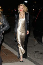 Amber Heard Leaves L'Oreal Event in New York 2018/12/05 5