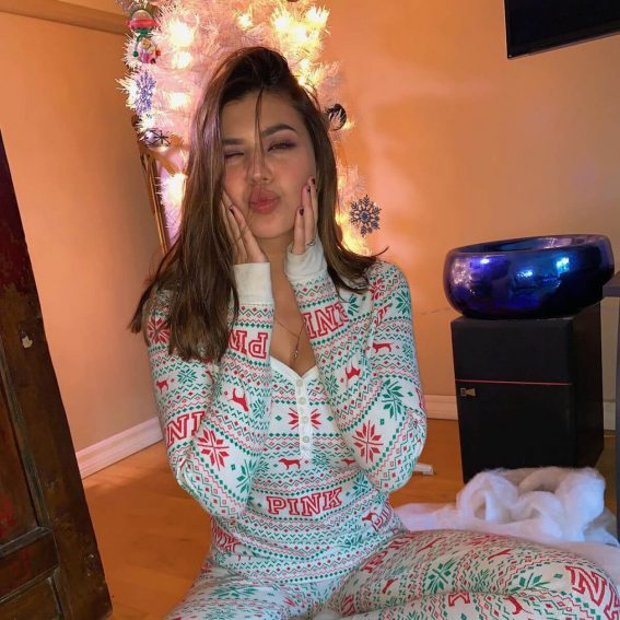 Amber Montana for Christmas Eve Instagram Pictures, December 2018 1