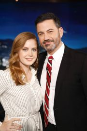 Amy Adams Arrives at Jimmy Kimmel Live in Los Angeles 2018/12/13 1
