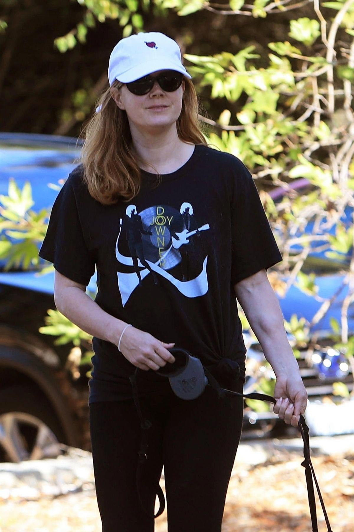 Amy Adams Out Hiking with Her Dogs in Beverly Hills 2018/12/01 1