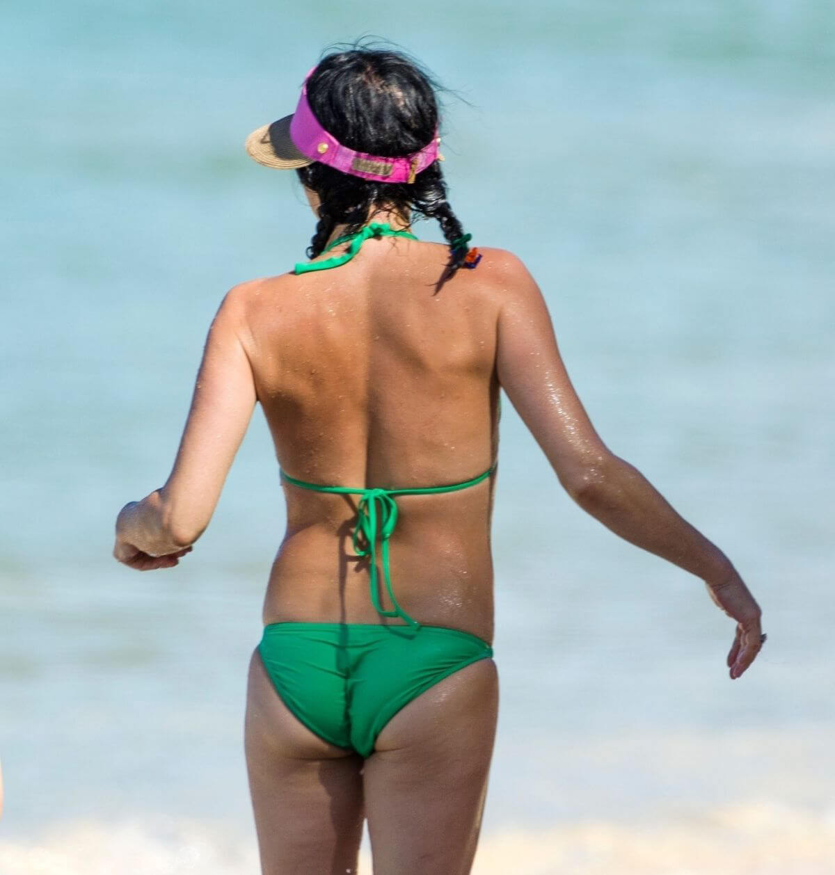 Andrea Corr in Bikini at a Beach in Barbados 2018/12/24 1