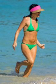 Andrea Corr in Bikini at a Beach in Barbados 2018/12/24 2