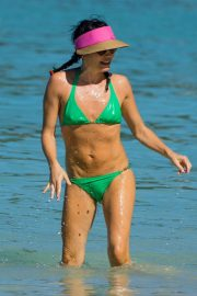 Andrea Corr in Bikini at a Beach in Barbados 2018/12/24 3
