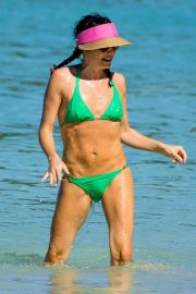Andrea Corr in Bikini at a Beach in Barbados 2018/12/24 12