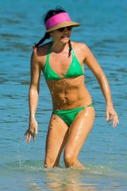 Andrea Corr in Bikini at a Beach in Barbados 2018/12/24 13