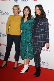 Andrea McLean, Stacey Solomon and Jane Moore at Virgin Money Giving Mind Media Awards in London 2018/11/29 1