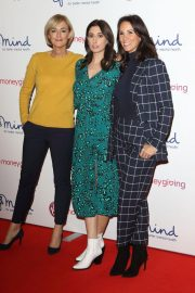 Andrea McLean, Stacey Solomon and Jane Moore at Virgin Money Giving Mind Media Awards in London 2018/11/29 10