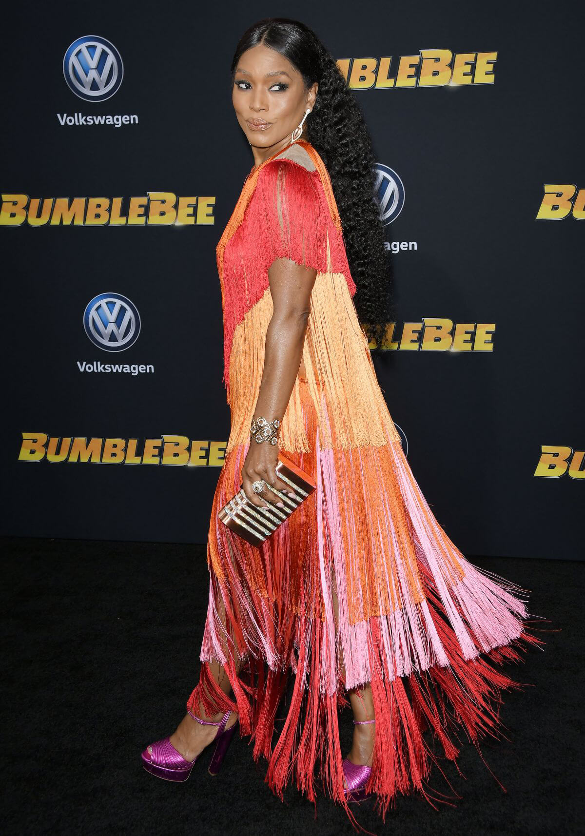Angela Bassett at Bumblebee Premiere in Hollywood 2018/12/09 1