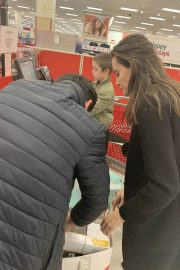Angelina Jolie Shopping at Target in West Hollywood 2018/12/16 1