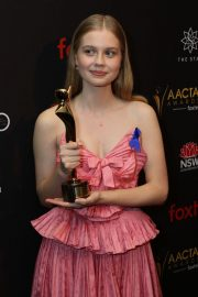 Angourie Rice at Aacta Awards Presented by Foxtel in Sydney 2018/12/05 10