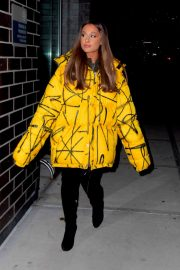 Ariana Grande Arrives at a Recording Studio in New York 2018/12/11 2
